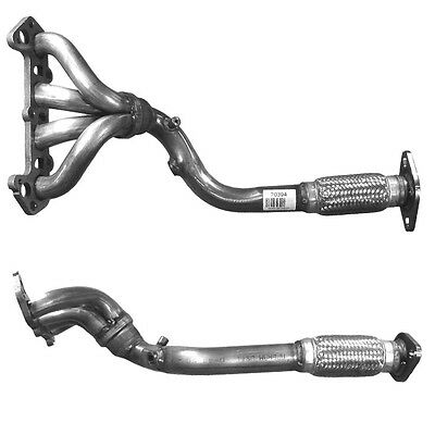 Ford Focus 1.6 1998-2004 Exhaust Cat/Catalytic Converter Front Pipe+Fitting Kit