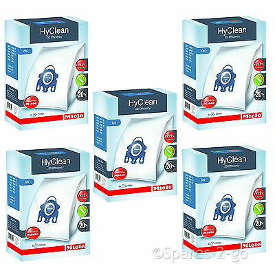 MIELE Vacuum Cleaner Hoover Bags GN Hyclean & Filters Cat & Dog Genuine Bag x 20