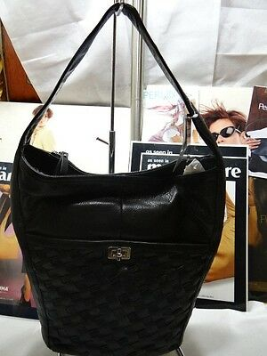 Brand new B. Makowsky Black Hobo A230946 $248 Retail price Magnetic Entry
