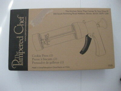 Pampered Chef Cookie Press 1525 New In Box