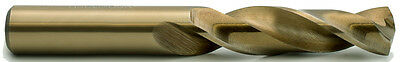 "47/64"" Heavy Duty Cobalt 135° Notched Point Stub Length Drill USA #600C-47/64"