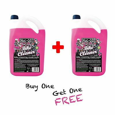 Muc Off Twin Pack 5 Litre (10 Litres) Motorcycle|Motocross|MX|Off Road Cleaner