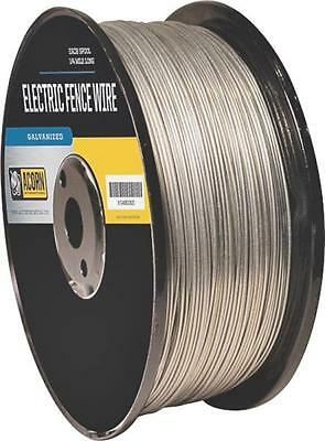 Acorn Efw1712 17 Gauge 1/2 Mile Length Galvanized Electric Fence Wire 8156291