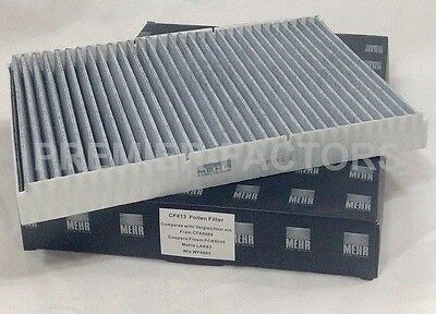 To Clear - New - Mehr Oe Quality Cabin / Pollen Filter - Cf813