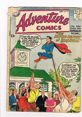 Adventure Comics # 252 Super-Sentry of Smallville ! grade 2.0 scarce hot book !!