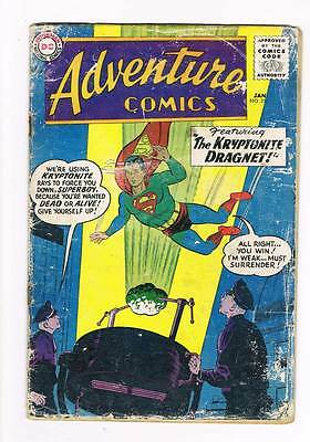 Adventure Comics # 256 Kryptonite Dragnet ! Origin Green Arrow ! grade 3.0 hot !