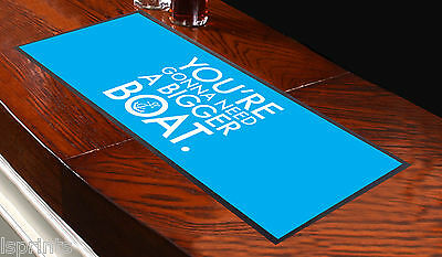 You're Gonna Need A Bigger Boat Movie Quote Bar Runner Ideal For Any Occasion