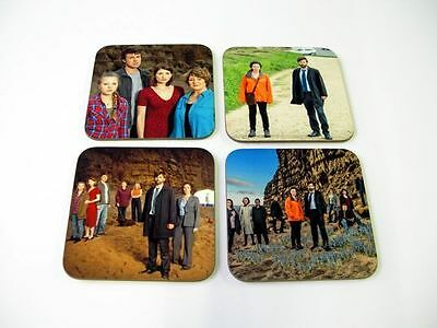 Broadchurch David Tennant Drinks COASTER Set