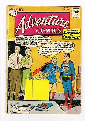 Adventure Comics # 278 Supergirl in Smallville ! grade 4.0 scarce hot !!