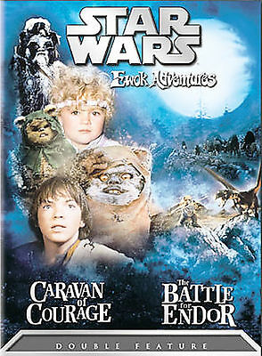 Star Wars Ewok Adventures - Caravan of Courage / The Battle for Endor by Eric W