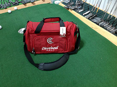 NEW Cleveland Golf Small Duffle Bag - Cardinal Red
