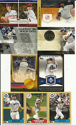 """2012 Topps Baseball Series """" 1 & 2 """"  Inserts..Pick Any 20 Cards From List!!"""