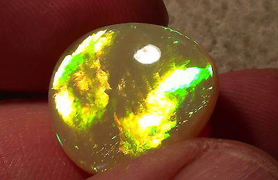 Gem-Class Flashfire Welo Opal 13,9ct Brillanz 5 -Top Stein- mit Video !!