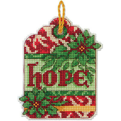 Counted Cross Stitch Kit HOPE ORNAMENT
