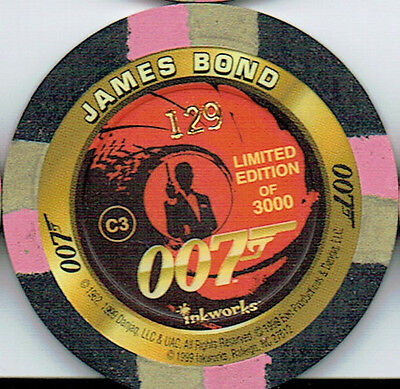 James Bond The World Is Not Enough Casino Chip C3