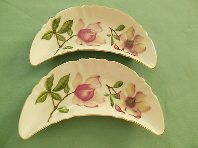 MITTERTEICH BAVARIA, 2 TRINKET/CANDY DISHES, GERMANY