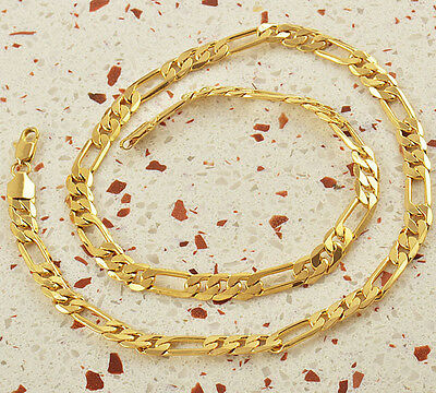 """24"""" 9K Gold Filled Mens Chain,F1016"""