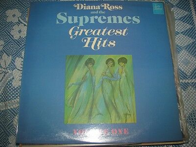 DIANA ROSS and the SUPREMES = GREATEST HITS - LP - MINT