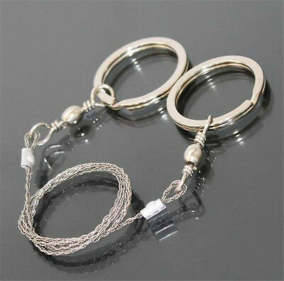 1PC Emergency Survival Gear Steel Wire Saw Camping Hiking Hunting Climbing Gear