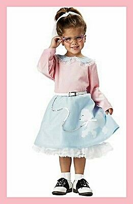 GIRL 50's POODLE DRESS COSTUME you got to love it