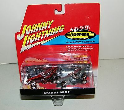 Johnny Lightning The Lost Toppers The Ones That Never Were Skinni Mini Set NEW