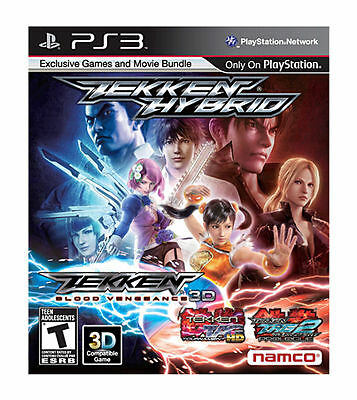Tekken Hybrid (Sony Playstation 3, 2011) PS3 + MANUAL * GREAT CONDITION