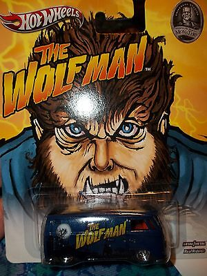 2013 Hot Wheels Monsters THE WOLFMAN VOLKSWAGEN T1 PANEL BUS COOL GRAPHICS