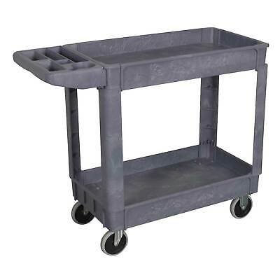 Sealey Heavy-Duty Composite 2-Level Shelf Workshop/Garage Trolley/Storage- CX202