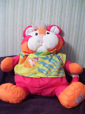 Fisher Price 1987 PUFFALUMP Wild Tropical Tiger HTF VGC