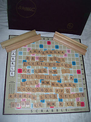 Vintage 1948 1949 1953 SCRABBLE GAME SELCHOW & RIGHTER CO COMPLETE SET RARE