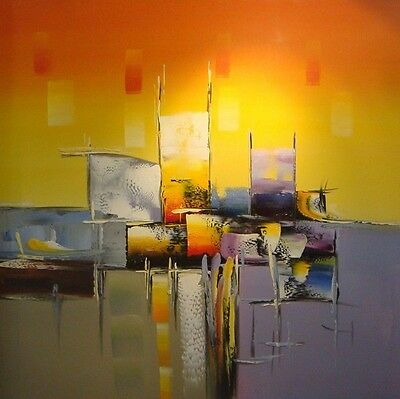 """20*20"""" (NO Frame) Modern Abstract Hand painted Oil Painting on Canvas"""