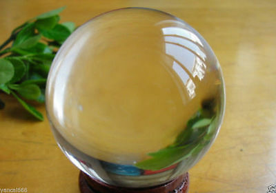 HOT Sell ASIAN QUARTZ Clear Crystal Ball Sphere 60mm +Stand #A1