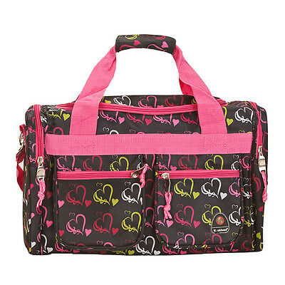 "Rockland Bel-Air 18"" Carry-On Tote Duffel - Hearts"