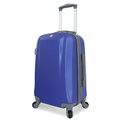 "SwissGear SA6072 Series Hardside 20"" Carry-On Spinner Upright Luggage - Blue"