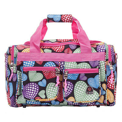 "Rockland Bel-Air 18"" Carry-On Tote Duffle Bag - New Heart"