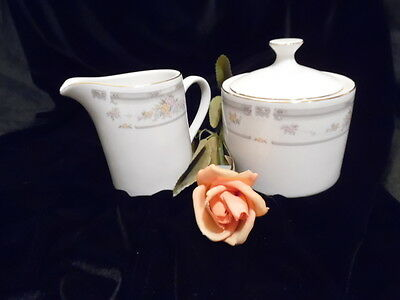 "FARBERWARE ""SOUTHAMPTON"" FINE CHINA 2PC COVERED SUGAR ONLY"