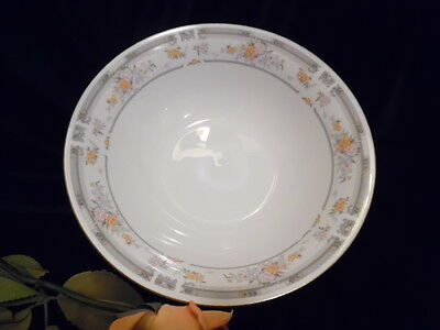 "FARBERWARE ""SOUTHAMPTON"" FINE CHINA ROUND SERVING VEGETABLE BOWL 9"""