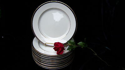 ROYAL CASTLE LADY MELISSA FINE CHINA DINNER PLATES-LOT (12)!