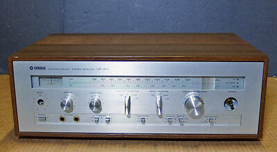 Vintage Yamaha Natural Sound Stereo Receiver CR-420, for Parts or Repair