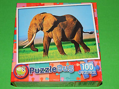New 100pc Jigsaw Puzzle Puzzlebug Bunny Rabbit Childrens Gift Kids