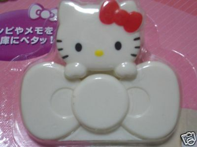 Pair of cute Hello Kitty magnet clips by Sanrio - Sold only in Japan! $6 w/ship.