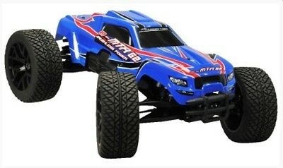 Thunder Tiger 6407-F112 e-MTA G2 BL Monster Truck blue 2.4 GHz RTR 1:8 - New/Ob