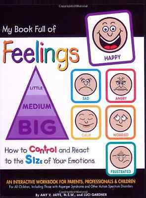 My Book Full of Feelings: How to Control and React to t - Spiral-bound NEW Jaffe