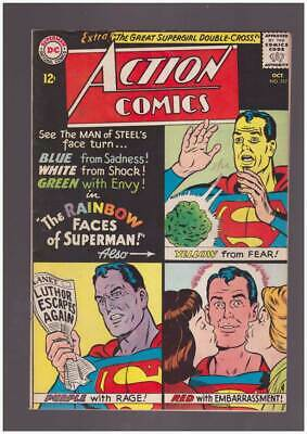 Action Comics # 317 Rainbow Faces of Superman ! grade 4.5 hot scarce DC
