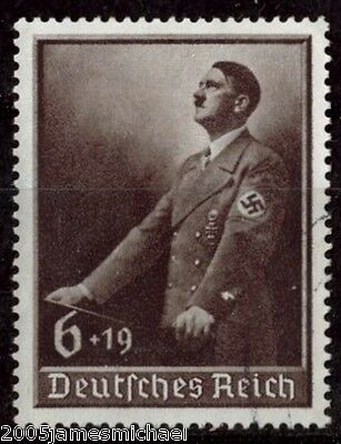 Deutsches Reich 1939, National Labour Day and Hitler's Culture Fund SG 682, Used