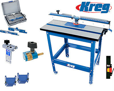 Kreg Precision Router Table PRS1040 With Accessories Router Table Package #2