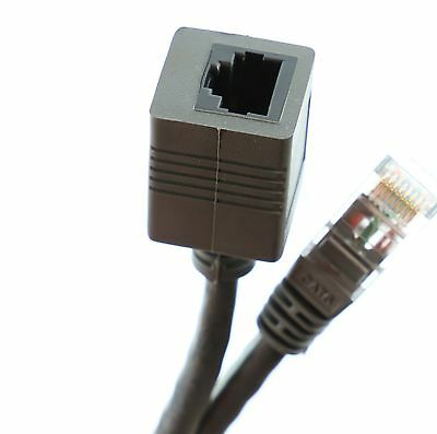 Ethernet Network Extension Cable RJ45 Cat5e  Male - Female Coupler 50cm -10m LOT