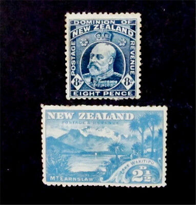 nystamps British New Zealand Stamp # 73 138 Mint With Gum H $43