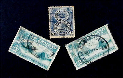 nystamps British New Zealand Stamp # 79 97 119 Used $133