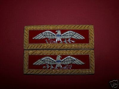 Colonel Artillery Eagle Staff Officer Uniform Rank Army Indian War Boards Straps